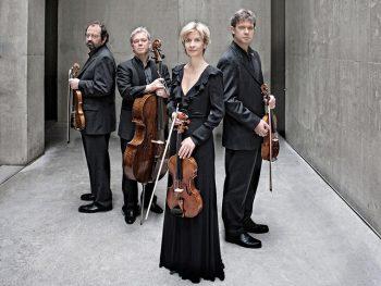 ハーゲン弦楽四重奏団のメンバーらが「福島市音楽堂」で圧巻の演奏を届ける