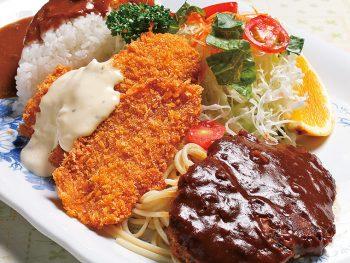 いろいろ味わえる!福島県北エリアで「合盛洋食」が楽しめる店・4選
