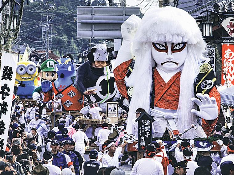 【10月7日(日)】諏訪神社例大祭 針道のあばれ山車