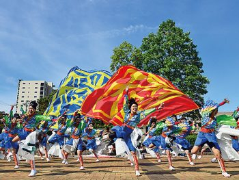 「YOSAKOI踊り」で心ひとつに。東北への愛・誇りを表現