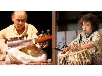 サロード奏者・スティーブとタブラ奏者・ユザーンが「本法寺」でライブ開催