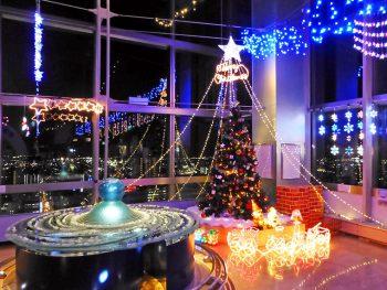 地上96メートルでクリスマスのイルミネーションに癒されよう