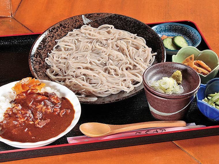 「そば定食」(1,200円)
