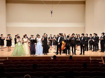 福島大学音楽科の生徒らによる秋の定期演奏会