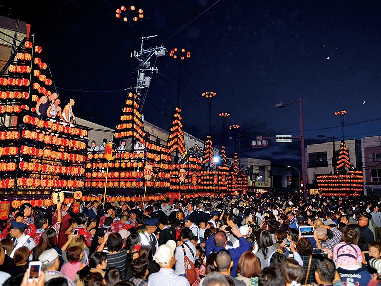 【10月4日(木)~10月6日(土)】二本松の提灯祭り