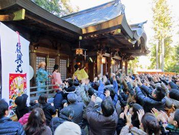 「福銭撒き」や露店も!いわき市の「金刀比羅神社」で新年を祝おう