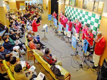 「済生会福島総合病院」でクリスマスコンサート開催