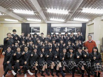 日頃の成果を披露する、本宮高校吹奏楽部の定期演奏会