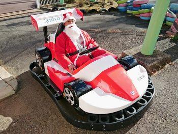 """冬の遊園地を、クリスマスの仮装で遊ぼう!""""トナカイヒツジ""""も登場!"""