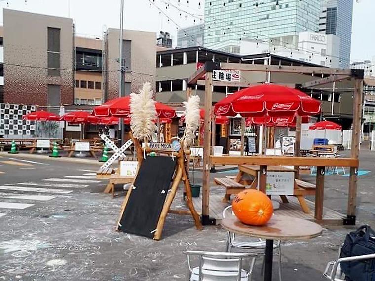 JR仙台駅東口から徒歩1分の「EKITUZI」は現在、開催に向けて準備中!