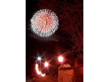 元旦の夜空に咲く花火を浅川町で楽しもう