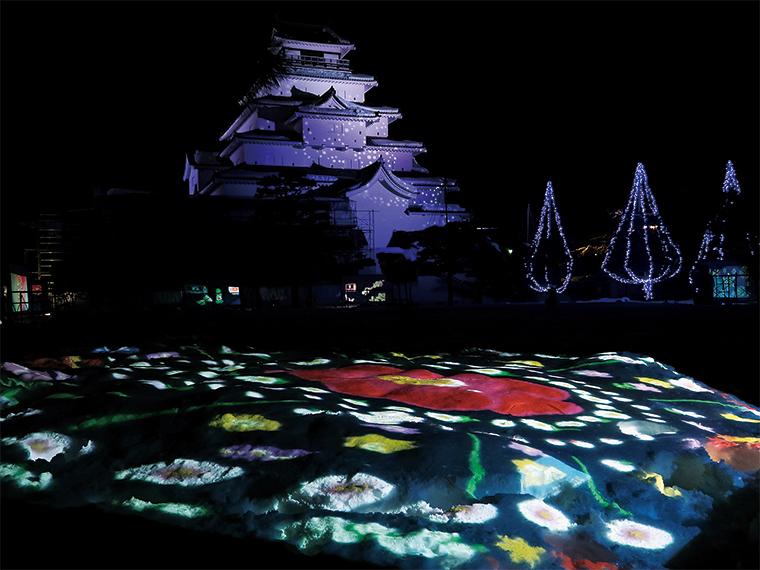 """地元では""""鶴ヶ城""""と呼ばれ親しまれている『会津若松城』"""