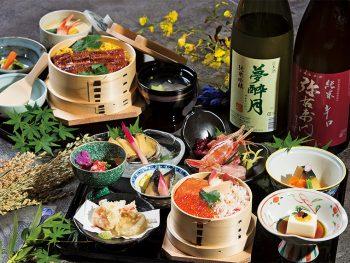 信夫山で味わう彩り豊かな海の幸に舌鼓!四季折々の景色で優雅な時間を楽しんで