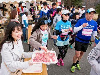 東北各地のグルメも楽しめるマラソン大会!仮装参加も大歓迎!!