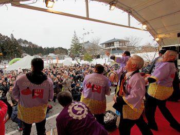 柳津町の冬祭りはライブや花火など企画満載!