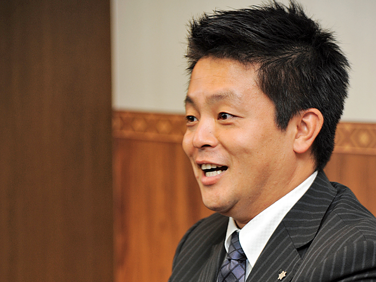 アルファクラブ東北株式会社の神田貢典社長