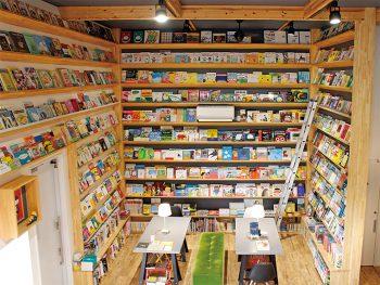 5mある本棚に絵本がずらり!大人も夢中になれる田村市のおすすめスポット