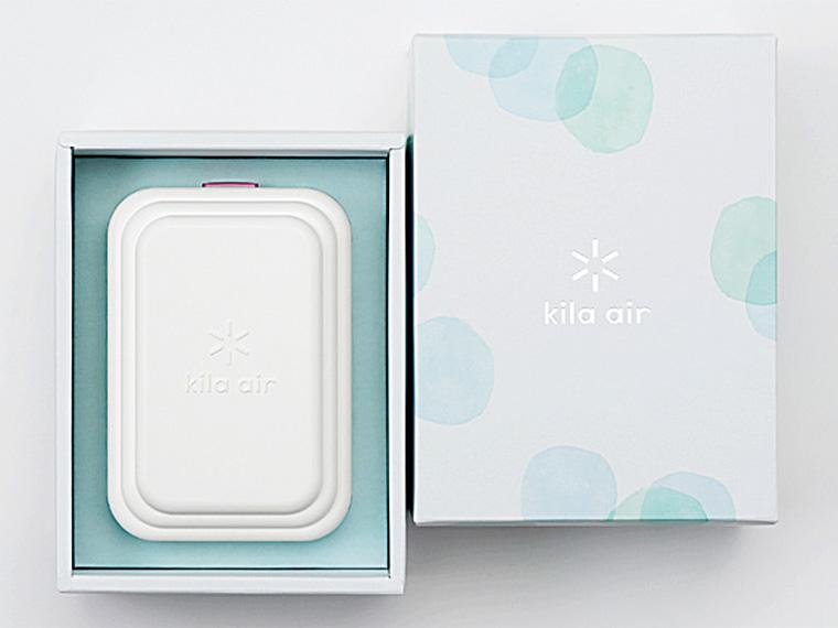 小型消臭除菌器『Kila air(キラ・エアー)』【3名様】