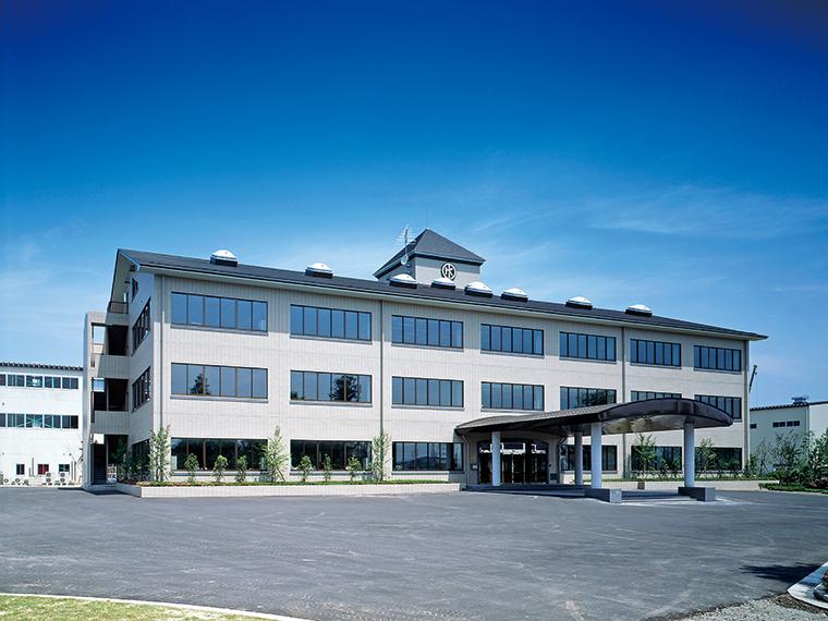 「東開工業」の社屋。会社見学は随時募集しているので、問い合わせを