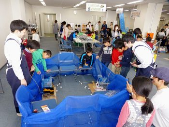 ロボット操作も体験できる!福島県内の高校と連携したイベントを楽しもう