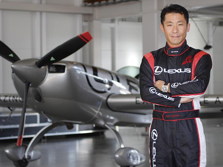 世界で活躍するエアレース・パイロットの室屋義秀選手。そのエアショーは貴重な体験