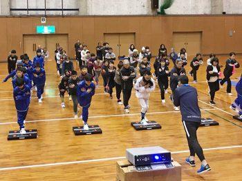 トップトレーナー・木場克己氏による体幹トレーニング!