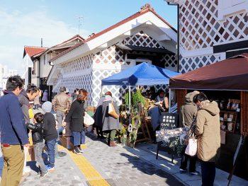 須賀川市の路地で素敵なモノに出会えるマーケットを開催!