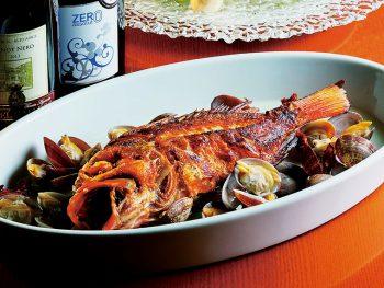 こだわりのイタリアンで、厳選された旬菜鮮魚を味わう