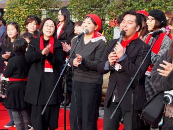 みんなの歌声を合わせて、福島の元気を世界へ発信!