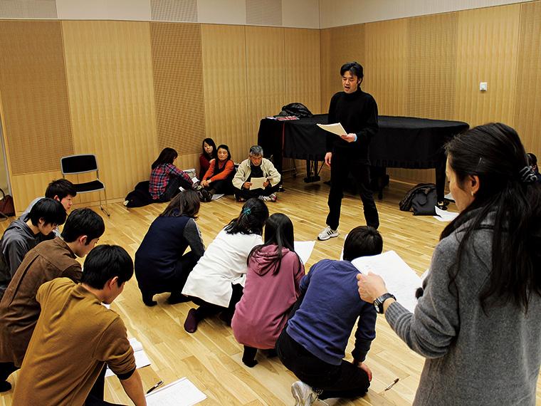 「次世代の子どもたちに生の舞台芸術を見てもらいたい」と、子ども対象の公開リハーサルを公演前日に行う