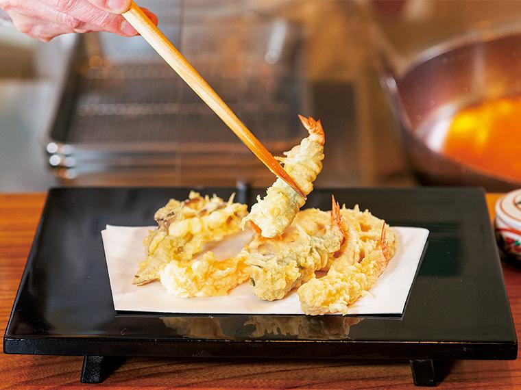 父がこだわる厳選した食材と、旬を届ける思いを守り続ける天ぷら専門店