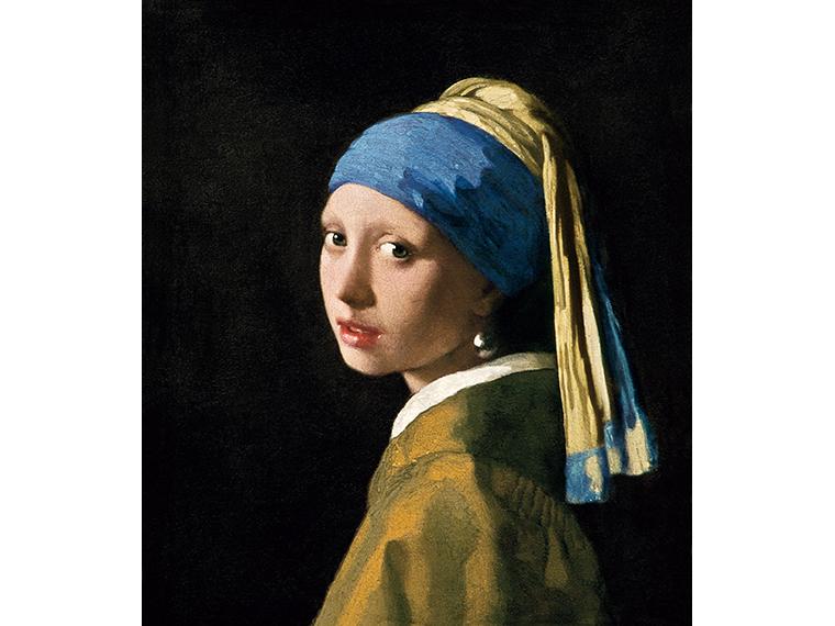 《真珠の耳飾りの少女》ヨハネス・フェルメール作、1665年、マウリッツハイス美術館蔵(C)フェルメール・センター銀座