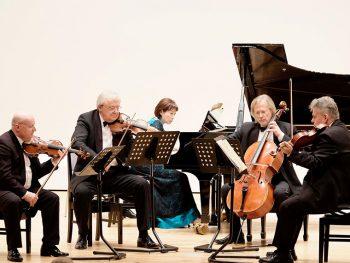 プラハより弦楽四重奏団「シュターミッツ・クァルテット」が来福