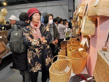 三島町に全国の編み組工芸品が大集合!