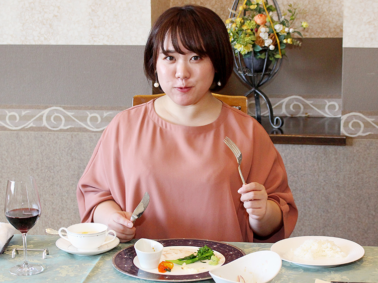 おいしかった~!!米沢牛ステーキは最後の一口まで感動を与え続けてくれました