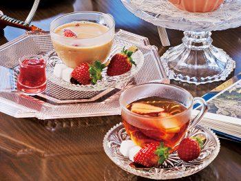 """イチゴに恋した""""春紅茶""""で優雅なティータイムを"""