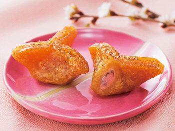 さくらあんに春香る福島銘菓「家伝ゆべし さくらあん」