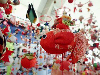 「アクアマリンふくしま」に水族館ならではのつるし雛が登場!
