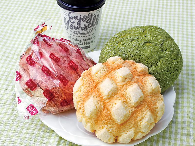 18【Melon de melon (メロン・ドゥ・メロン) 福島大町店】選べるメロンパンのドリンクセット(通常700円~720円)