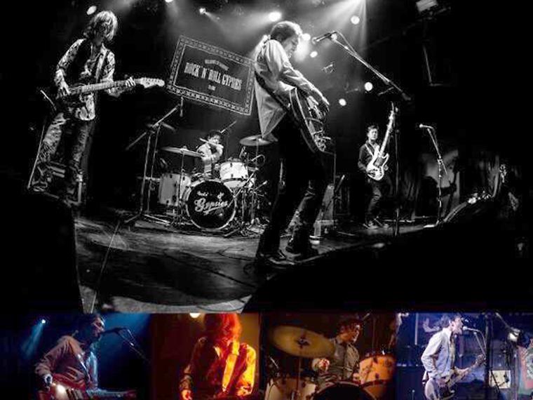 「ROCK'N'ROLL GYPSIES」初ツアーで福島市に登場