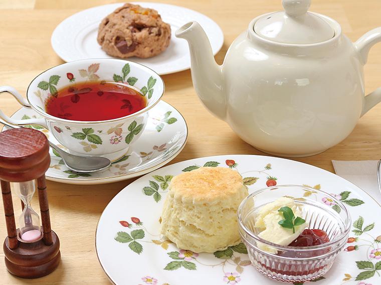 20【こどもふく&Tea Room Orange Pekoe(オレンジペコ)】選べるスコーンと紅茶のセット(通常810円〜875円)