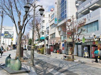 福島市、平成の道「パセオ通り」を歩く