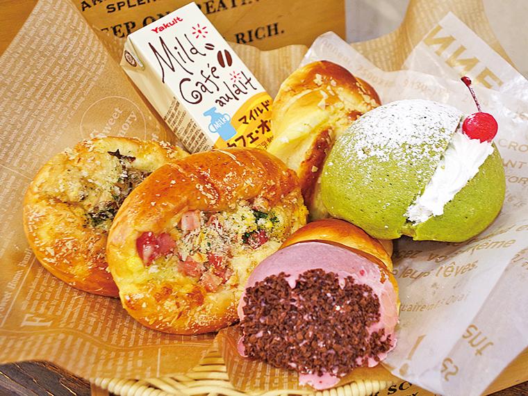 19【手づくりパン まちなか夢工房】選べるパンとドリンクセット(通常760円)