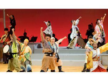 全国で公演を重ねる、南会津町の小・中・高校生による現代版組踊『息吹』