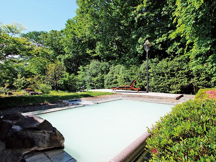 クーポンを利用した店で貰えるチラシのQRコードから応募すると、抽選で二本松市・岳温泉「空の庭リゾート」の入浴券が当たるチャンス!