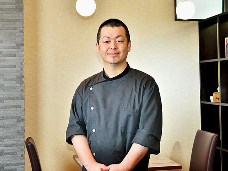 「季節の食材を大切にして提供しています。気軽にお越しください」と、オーナーの齋藤さん