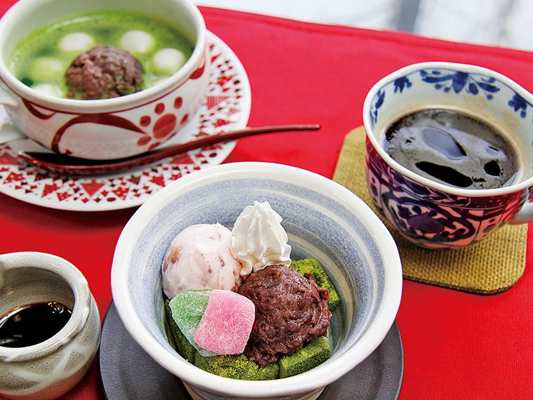 2【松屋レストラン】選べる抹茶スイーツ&ドリンク(通常830 円〜1,030円)