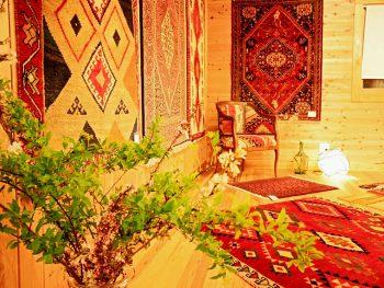ペルシャ絨毯やギャッベなど、世界中のアートな絨毯を猪苗代町に観に行こう