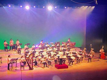 吹奏楽コンクールの課題曲から、映画音楽、ポップスまで楽しめる演奏会