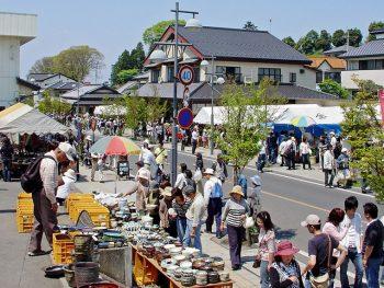 春秋開催合わせ60万人を動員する益子焼の祭典!『益子春の陶器市』